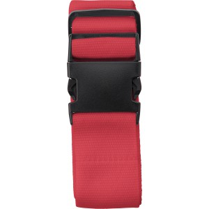 Polyester luggage belt, red (8405-08)