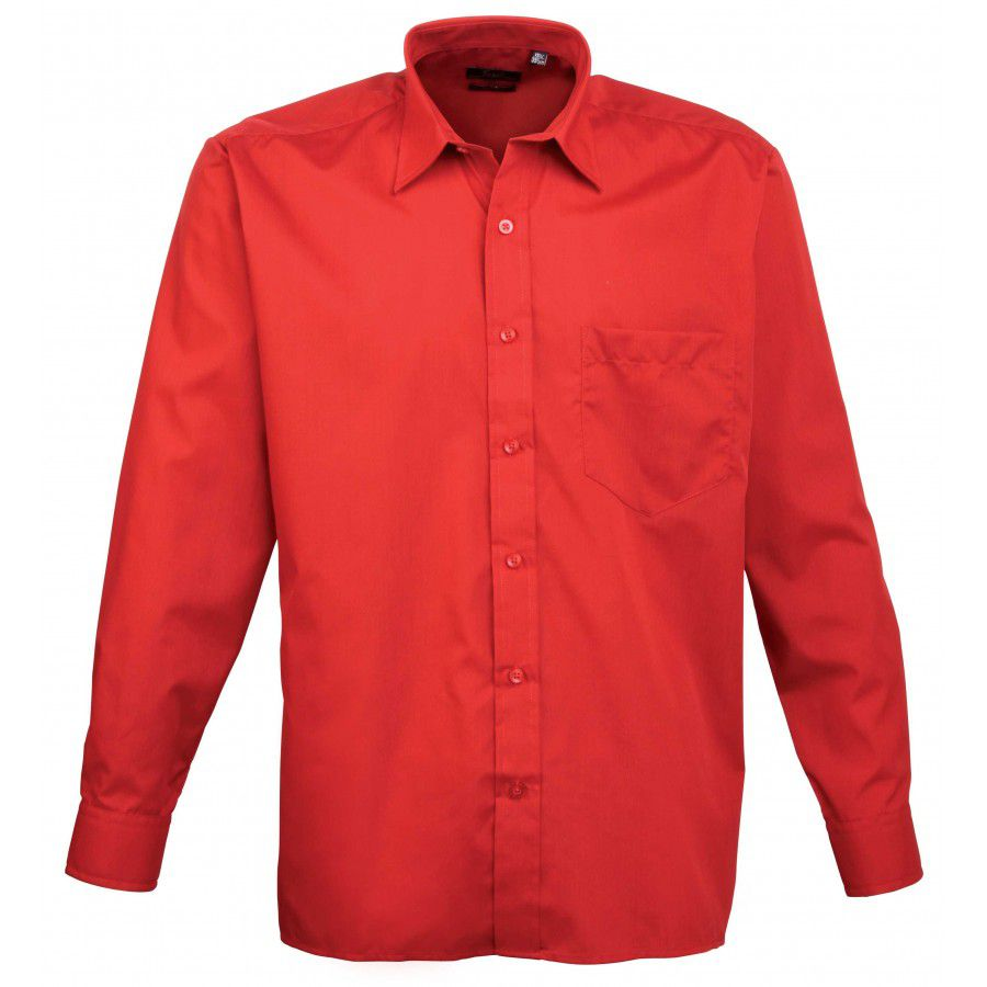 Premier Mens Long Sleeve Shirt 879eca4d8bb