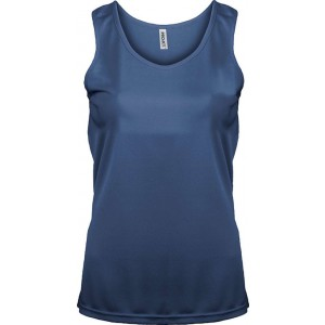 ProAct Ladies Sports Vest, Sporty Navy, L (PA442SNV)