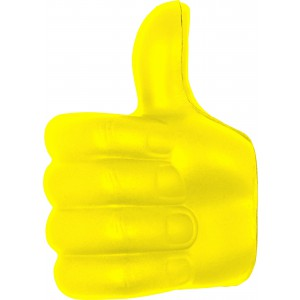 PU anti stress thumbs-up, Yellow (8576-06)