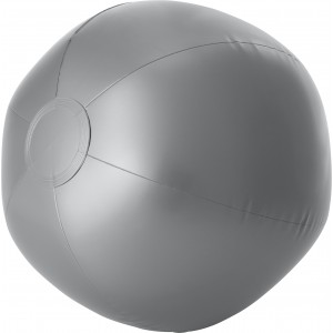 PVC inflatable beach ball., Silver (4188-32)
