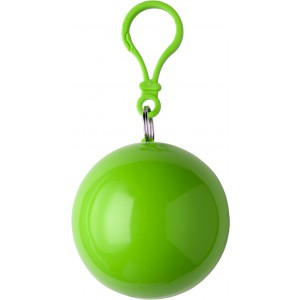 PVC poncho in a plastic ball, light green (9137-29CD)