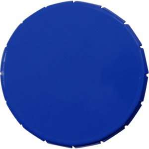Round container with 12g sugar free mints, Cobalt blue (3546-23)