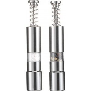 Salt and pepper mill, silver (3724-32)