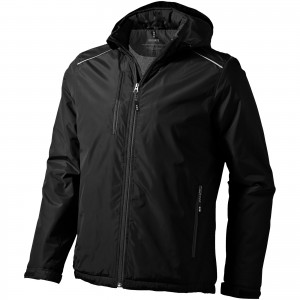 Smithers fleece lined jacket, solid black, M (3931399)