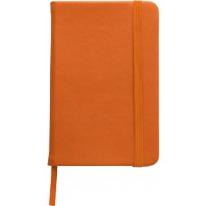 Soft feel notebook (approx. A6), Orange (2889-07)
