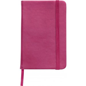 Soft feel notebook (approx. A6), Pink (2889-17)
