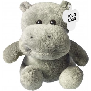 Soft toy hippo, neutral (8084-00CD)