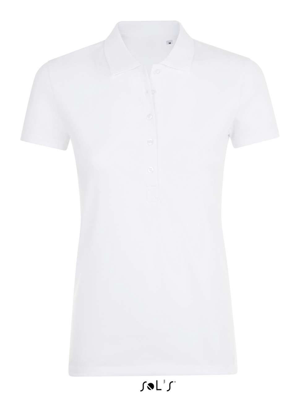 Sols Phoenix Women Polo Shirt White M Reklmajndk Ltd