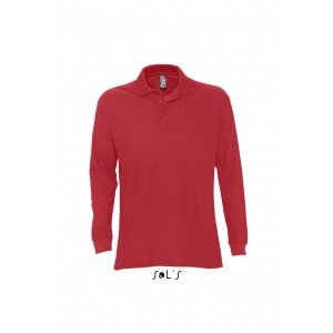 Sols Star Men Polo Shirt, Red, 2XL (SO11328RE)