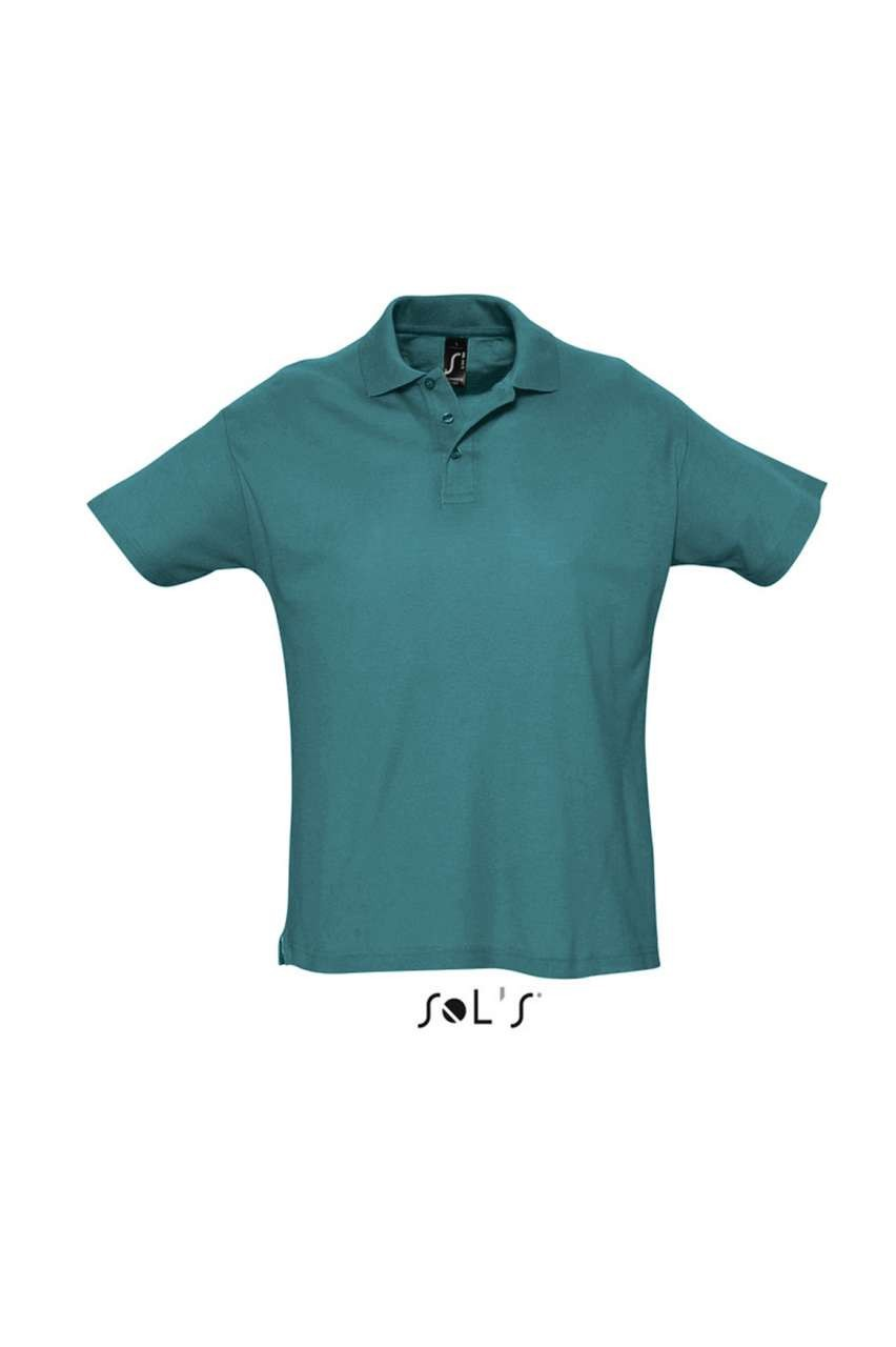 Sols Summer Ii Men Polo Shirt Duck Blue Xl Polo T Shirt 90 100