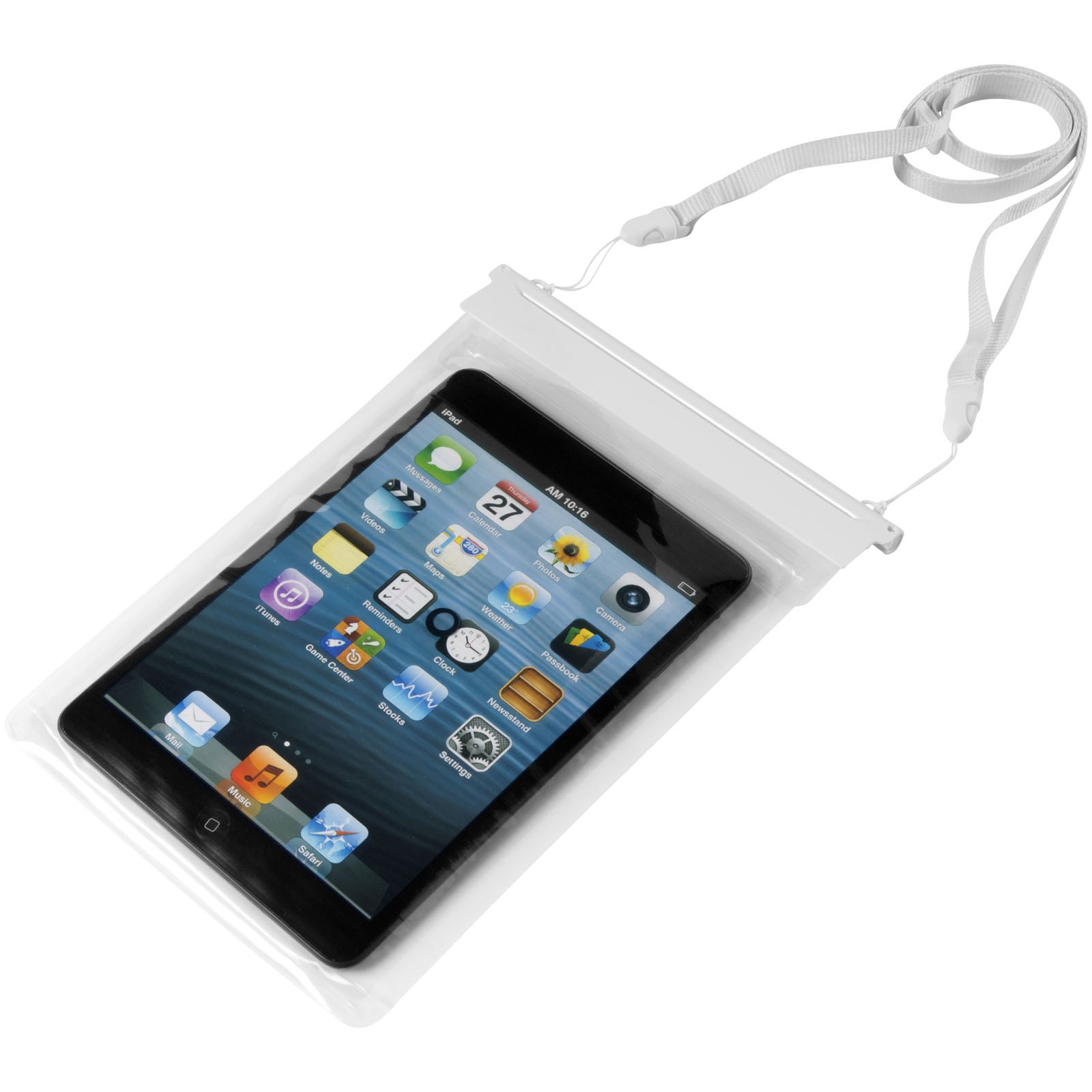 newest 1908a fb595 Splash mini tablet waterproof touch screen pouch, white, 24 (pen ...