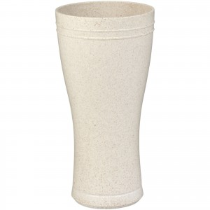 Tagus 400 ml wheat straw beer glass, Beige (Glasses)