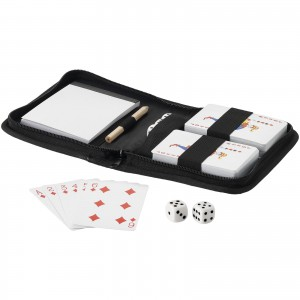 Tronx playing cards, solid black, 15,7 x 12,3 x 3,2 cm (Toy, game)