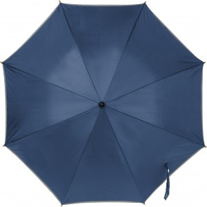 Umbrella with reflective border, blue (4068-05CD)