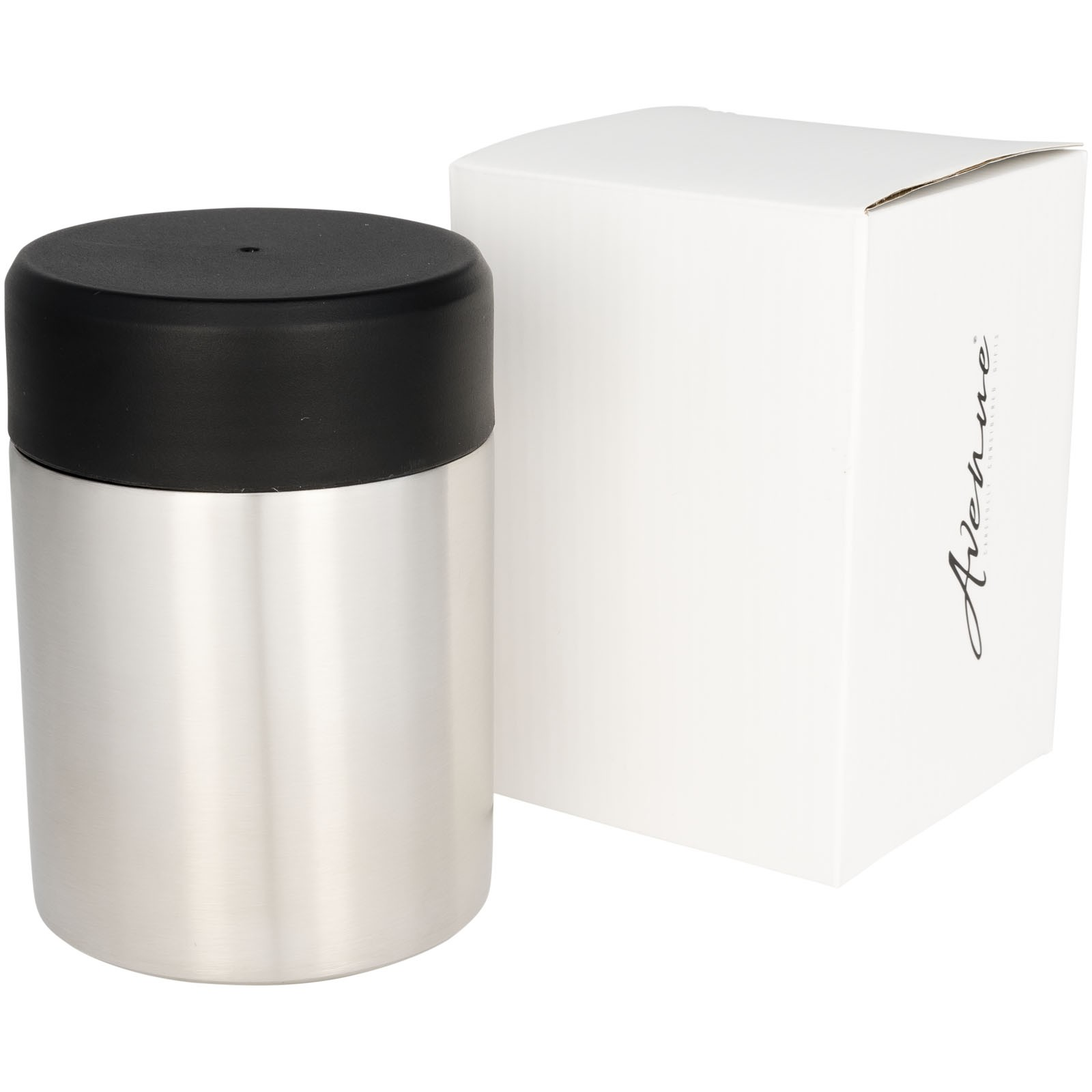 Vacuum Copper Insulated Food Container Grey Thermos